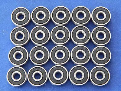 20 Stück Kugellager 626 2RS (6x19x6 mm) Miniaturkugellager