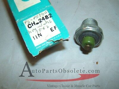 1970 -78 Dodge Plymouth Valiant Barracuda six oil pressure sender nos 3004105 for sale  Shipping to Canada