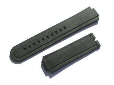 Tudor Uhrenarmband Gummi Kautschuk schwarz 22mm 22/20 70/120 I147