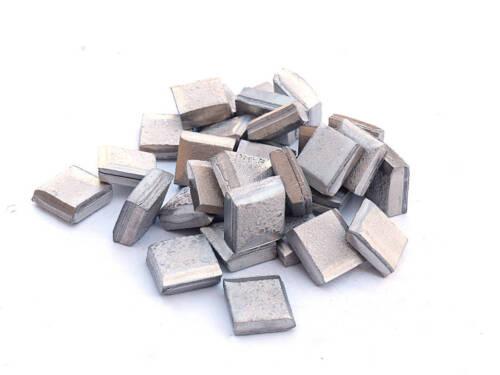 Nickel Squares 99.9% Pure (2 Pounds) Raw Nickel Metal