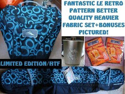 a2ec7878fe697 NEW LE RETRO DELUXE S8003 S8014 HIGH SIERRA SINGLE SKI BAG + BOOT BAG COMBO  SET