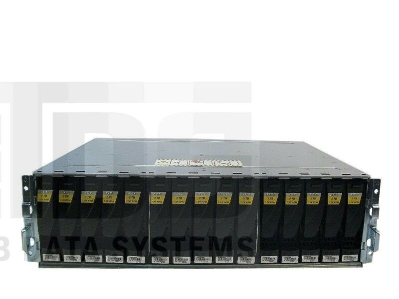 Emc Cx3 Cx4 30tb 4p-dae Cx-sa07-020 2tb 7.2k Rpm Fc Drives W/bezel Rails Cables