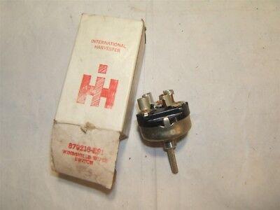 vintage international harvester windshield wiper switch #879218-r91