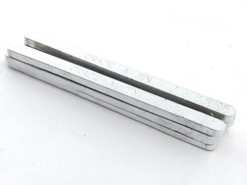 Tin Bars 99.9% Pure (2 Pounds) Raw Tin Metal Bar