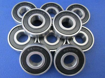 10 Stück 6201 2RS (12x32x10 mm) Kugellager, Rillenkugellager