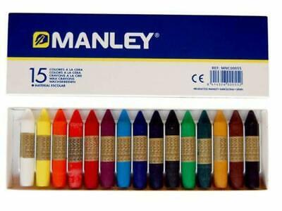 Ceras blandas Manley 15 Colores