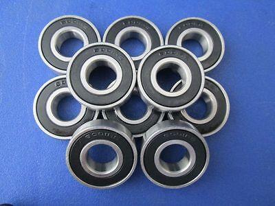 10 Stück 6001 2RS (12x28x8 mm) Kugellager, Rillenkugellager