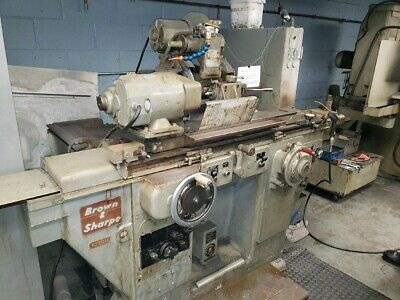 Brown Sharpe Universal Cylindrical Grinder 1020u 10 X 20 Id Spindle