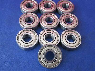 10 Stück 6000 ZZ (10x26x8 mm) Kugellager, Rillenkugellager