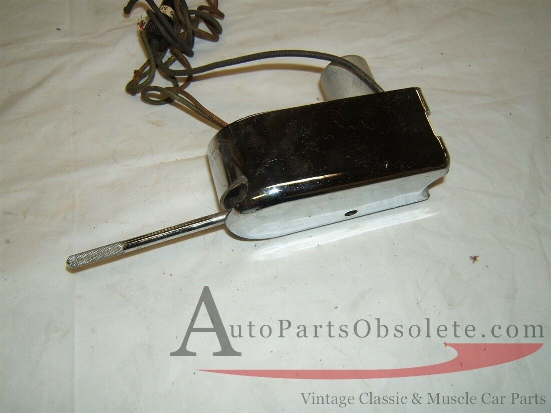 vintage 40s 50s chrome column mounted turn signal switch new
