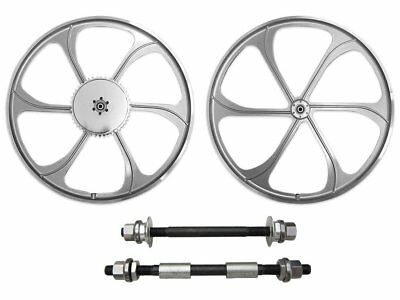 BBR Tuning 26 Inch Heavy Duty Front Mag Wheel for Mountain Bikes, Beach Cruisers