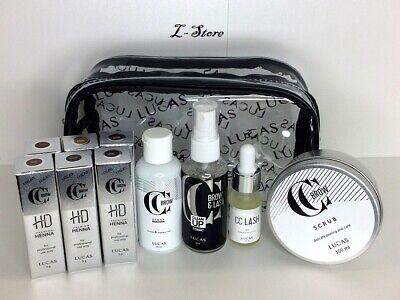 CC Brow Henna Kit HD PREMIUM №2 Tint Eyebrow & Eyelash Professional Tinting