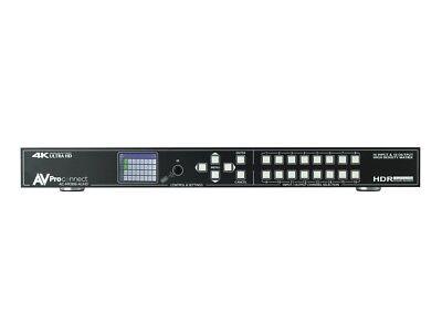 AVPro Edge AC-MX1616-AUHD 18Gbps 4K 16x16 Matrix HDMI Switch/Ultra Low Profile