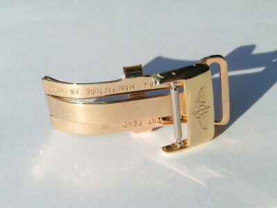 Breitling Faltschliesse 18mm buckle Gold GG 750 18K NP CA. 4.000 Euro I469