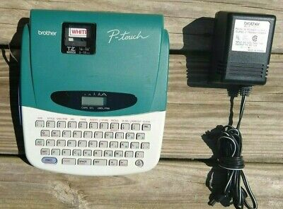 Brother P-touch Label Maker Pt-1700 Thermal Printer With Ac Adapter Tested Ok