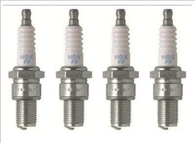 4 Plugs of NGK Standard Series Spark Plugs BR9ECS-5/6669