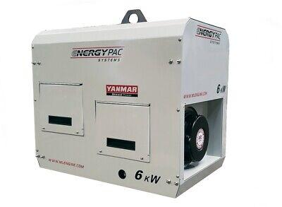 6kw Yanmar Air Cooled Diesel Generator With Enclosure