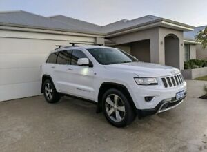 2015 Jeep Grand Cherokee Limited (4x4) 8 Sp Automatic 4d Wagon