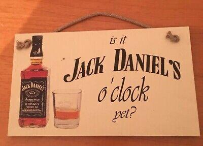 Jack Daniel's Sign For Bar Or Mancave