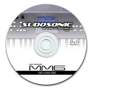 DVD Video Tutorial Yamaha MM6 MM8 , usado comprar usado  Enviando para Brazil