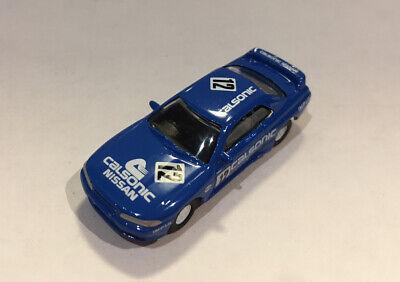 1/100 Kyosho Nissan Skyline GT-R BNR32 Racing #12 BLUE Diecast Car Model *small*