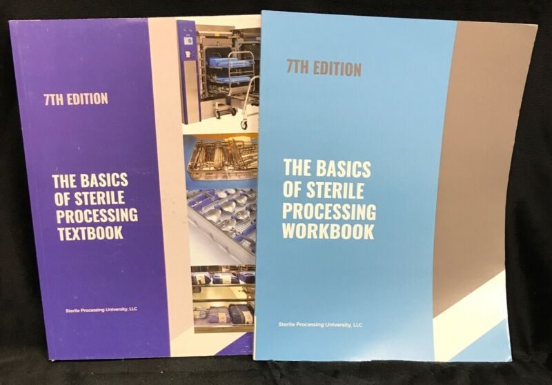 The Basics of Sterile Processing 7th Edition Textbook + Workbook