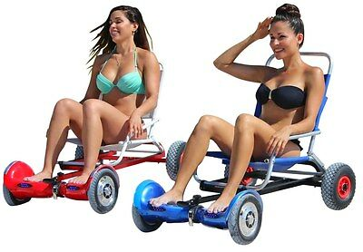 NEW PATENT PENDING HOVERSEAT HOVER SEAT SEATING FRAME ATTACHMENT HOVER CART