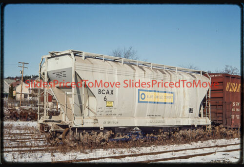 Orig. Slide - Blue Circle Cement Covered Hopper BCAX 6, Youngwood, PA - 1992