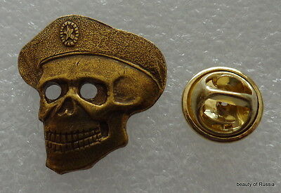 Russian Special Forces SPETSNAZ Badge SKULL in BERET badge pin