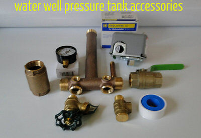 Water Well Pressure Tank Square D 4060 Fsg2 Pressure Switch Tank With Tee Kit