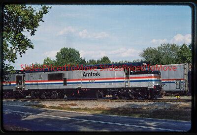 Orig. Slide - Amtrak P30CH 702, Lorton, VA - 1986