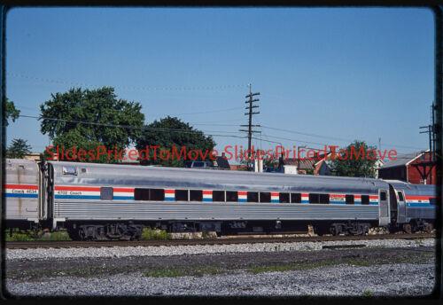 Orig. Slide - Amtrak Coach 4702 Martinsburg, WV - 1992