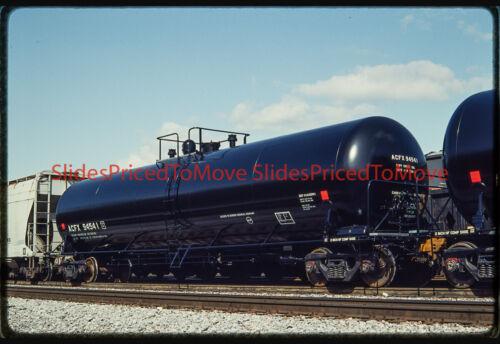 Orig. Slide - ACFX 94541 Tank Car, Brunswick, MD - 1992