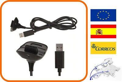 USB Gamepad Joystick Cable de alimentación del cargador para Mando Xbox 360