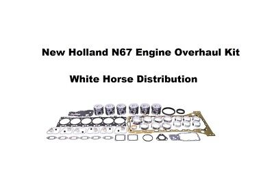 Engine Overhaul Kit Std Fits Case Mxu115 Tractor With N67 Engine