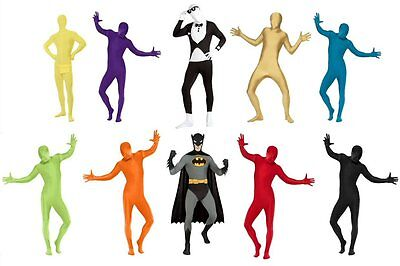 2nd Second Skin Tight Body Suit Zentai Halloween All In One Fancy Dress Costume - Skin Tight Halloween Costumes