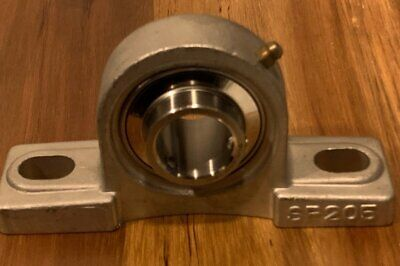1 Shaft Bore Stainless Pillow Block Bearing Sucsp205-16 New In Box