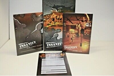 Insanity 60 Day Total Body Workout Program 10 Disc DVD Set + 3 Extra (13 Total)