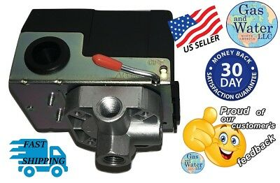 Air Compressor Pressure Switch 135-175 Psi Four 4 Port Wunloader Gw Qsa4h