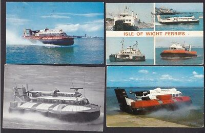 Transport Hovercraft x10 c1960/70s? PPCs some small faults