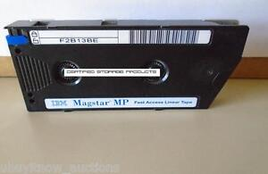 NEW-IBM-05H2462-Magstar-MP-5GB-Fast-Access-B-Linear-Data-Tape-Cartridge-BLUE-TAB