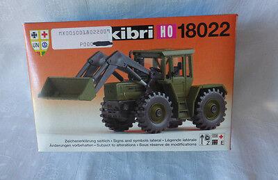 Kibri 1: 87 - H0 -18022 MB-Trac mit Frontlader -  Militär-Version  OVP , gebraucht gebraucht kaufen  Lambrechtshagen