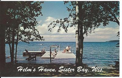 Haven Resort (Helm's Haven Resort, Sister Bay, WI, Door County, WI - Unposted 1960s)