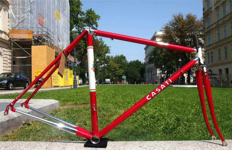 NEW Stylish CASATI Campionissimo Storia Columbus SL Road Bike Frame 50 RED