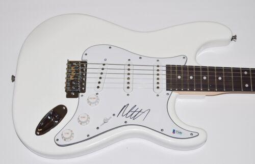 Matty Healy The 1975 Matt Signed Autographed Electric Guitar Beckett BAS COA