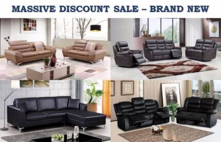 Top Quality Sofa Bed/Chaise/Recliner - FABRIC/LEATHER