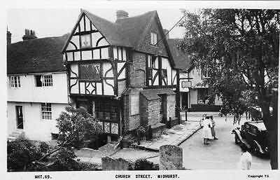 Church Street Midhurst unused RP old pc Frith