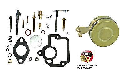 Complete Carburetor Rebuild Kit Float Ih Farmall H Hv I4 O4 W4 Tractor Ih Carb