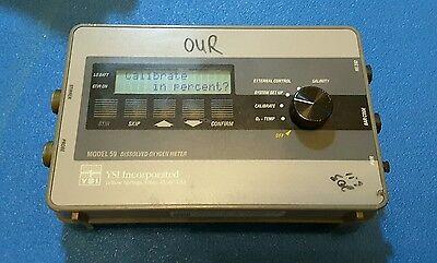 Ysi Model 59 Dissolved Oxygen Meter