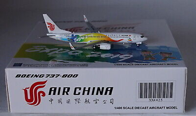 Jc Wings XX4425 Boeing 737-89L Wl Aire China Expo 2019 B-6497 en 1:400